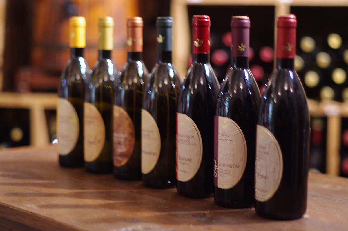 2.5キロメートル先に海が広がり、逆側はアルプス山脈の麓という絶好のロケーションにある畑から作られるワインは、誰もが驚く程キレイなビオワインです。