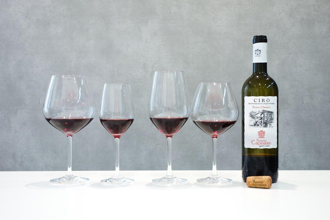 バローニ・カポアーノ|チロ ロッソ クラッシコ グラスの相性